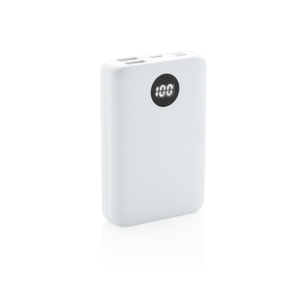 10.000 mAh pocket powerbank with triple input
