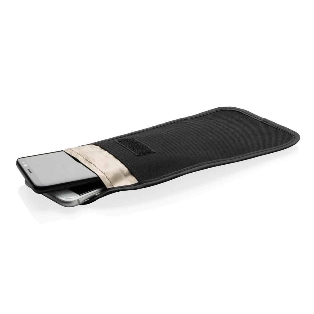 Phone case with signal blocking and anti-radiation
