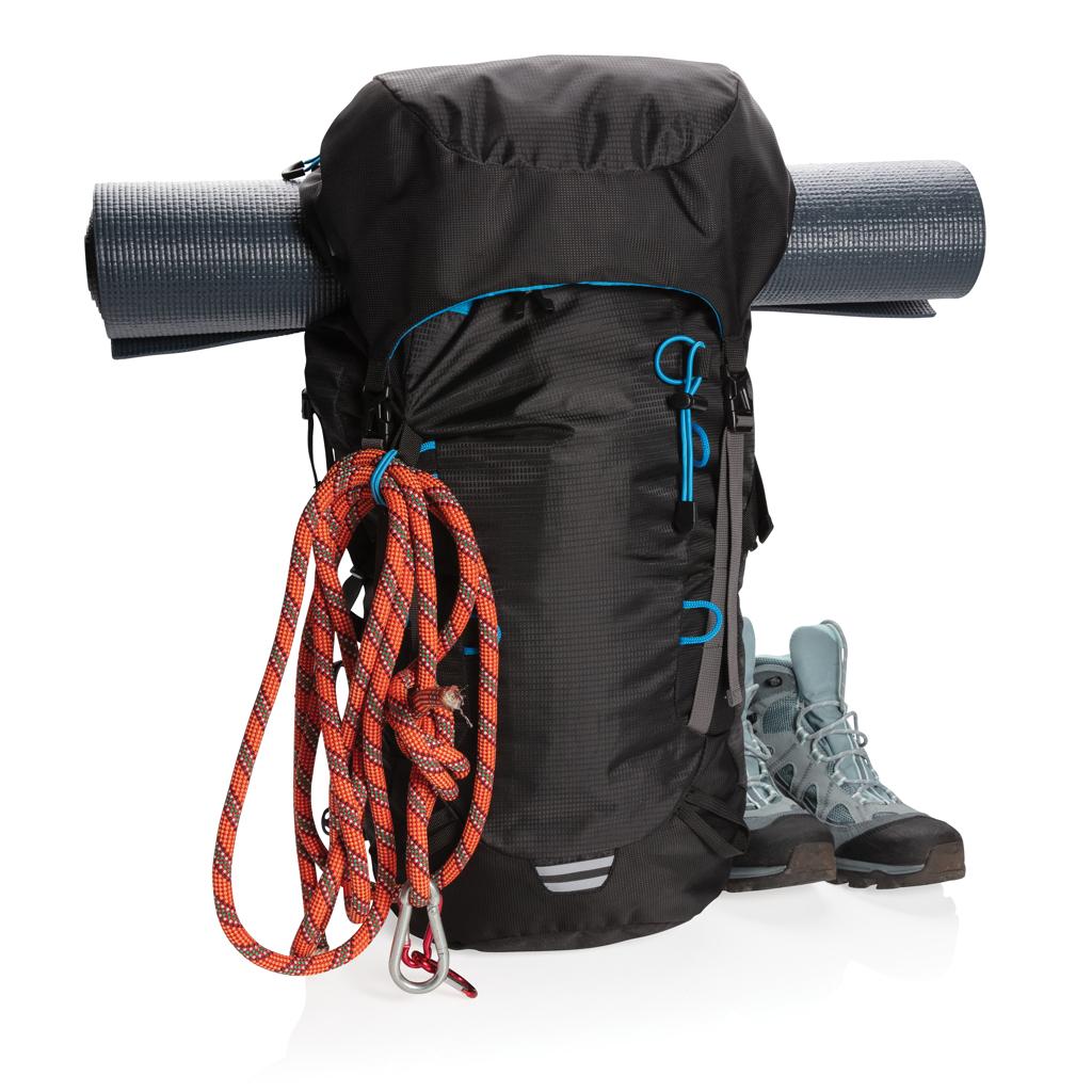 Explorer ribstop grote wandelrugzak PVC-vrij, zwart